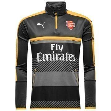 Arsenal Harjoituspaita 1/4 Harmaa/Keltainen