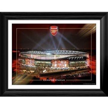 Arsenal Kehystetty Kuva Emirates Night 16 x 12