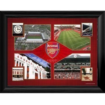 Arsenal Kehystetty Kuva Highbury