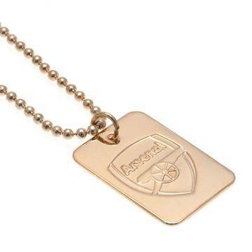 Arsenal Kulta Plated Dog Tag & Chain