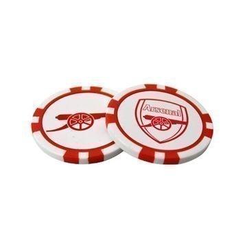 Arsenal Poker Chip Ball Markers
