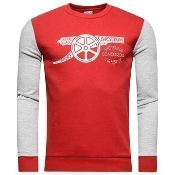 Arsenal Sweatshirt Fan Punainen/Valkoinen Lapset