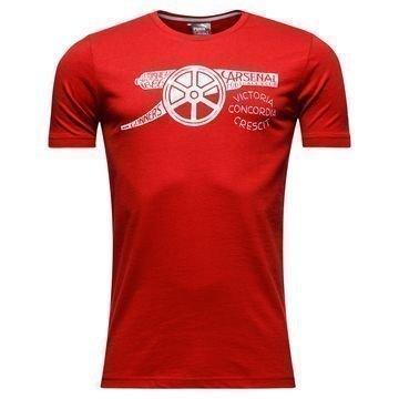 Arsenal T-Paita Cannon Punainen