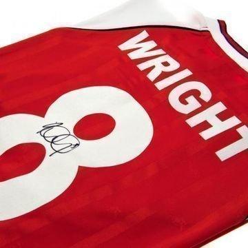 Arsenal Wright Allekirjoitettu Paita
