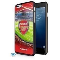 Arsenal iPhone 6 3D Suojakuori
