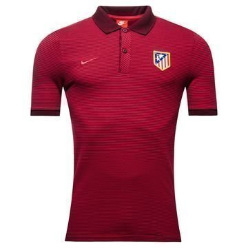 Atletico Madrid Authentic Pikeepaita Viininpunainen