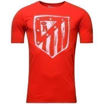 Atletico Madrid T-Paita Logo Punainen Lapset