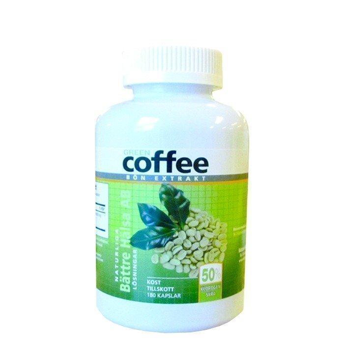 Bättre Hälsa Green Coffee 180 kapselia