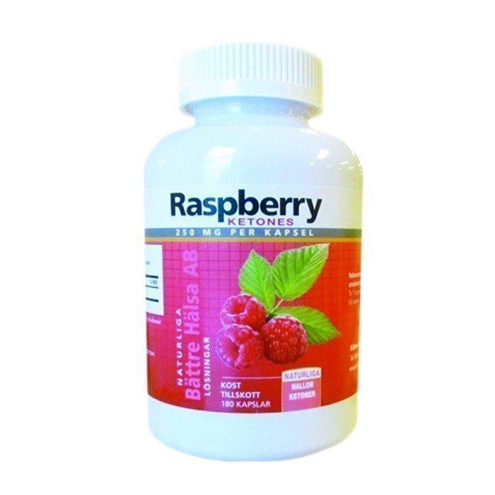 Bättre Hälsa Raspberry Ketones 180 kapselia