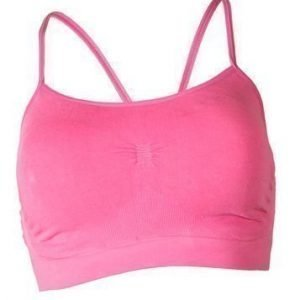 Bamboo Strappy Bra with Removable Cups fuksia