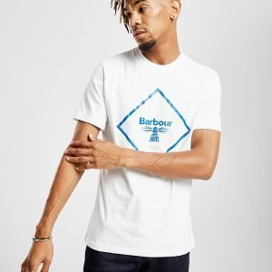 Barbour Beacon Beacon Large Logo T-Paita Valkoinen