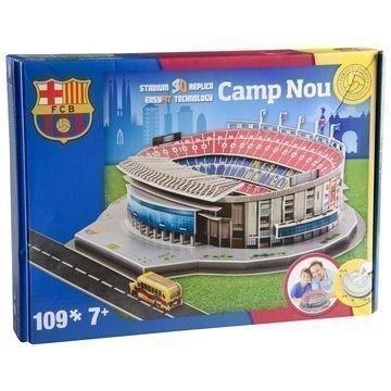Barcelona 3D Palapeli Camp Nou