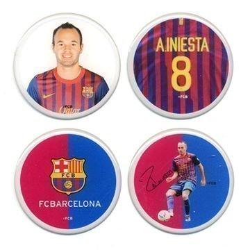 Barcelona 3D Tarrat 4pk Iniesta