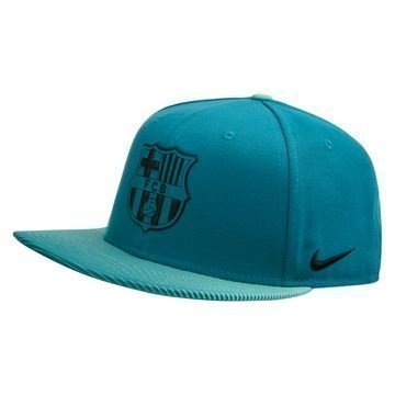 Barcelona Lippis Snapback Seasonal True Turkoosi