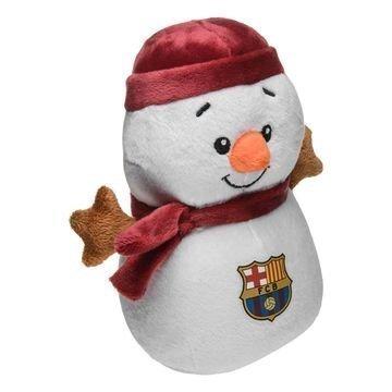 Barcelona Lumiukko Teddykarhu Valkoinen/Punainen