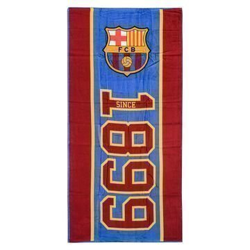 Barcelona Rantapyyhe Punainen/Sininen