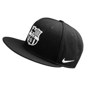 Barcelona Snapback Seasonal True Musta