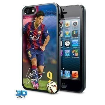 Barcelona -Suojakuori iPhone 5/5S 3D Suarez