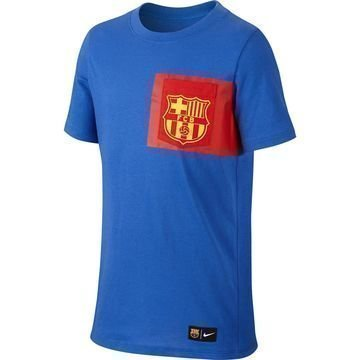 Barcelona T-paita Crest Sininen/Punainen
