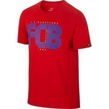 Barcelona T-paita Punainen