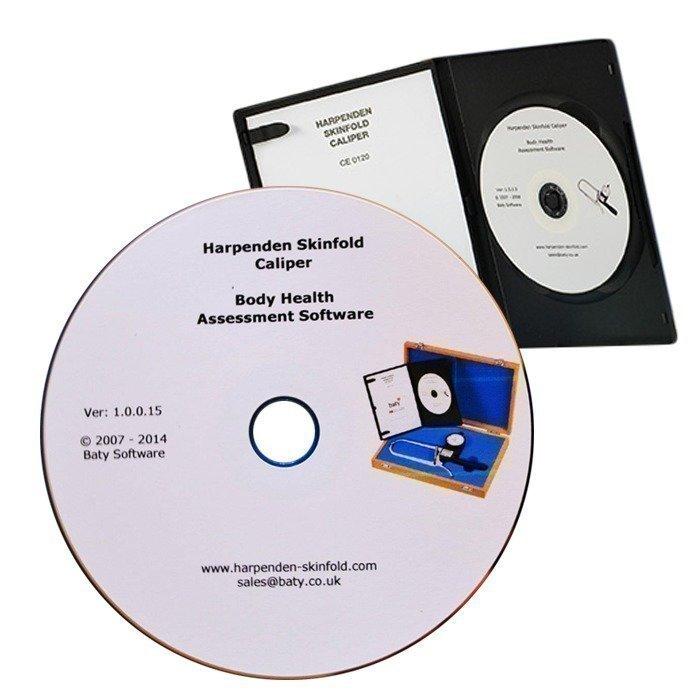 Baty Harpenden Skinfold Caliper Software