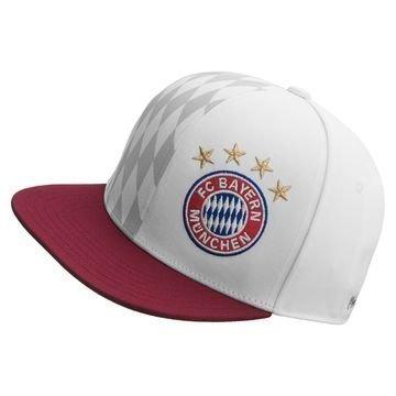 Bayern München Lippis Snapback Valkoinen/Viininpunainen