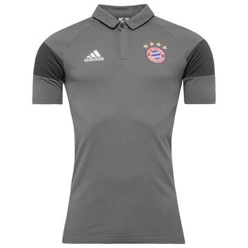 Bayern München Pikeepaita Harmaa