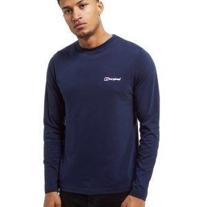 Berghaus Back Print Long Sleeve T-Shirt Laivastonsininen