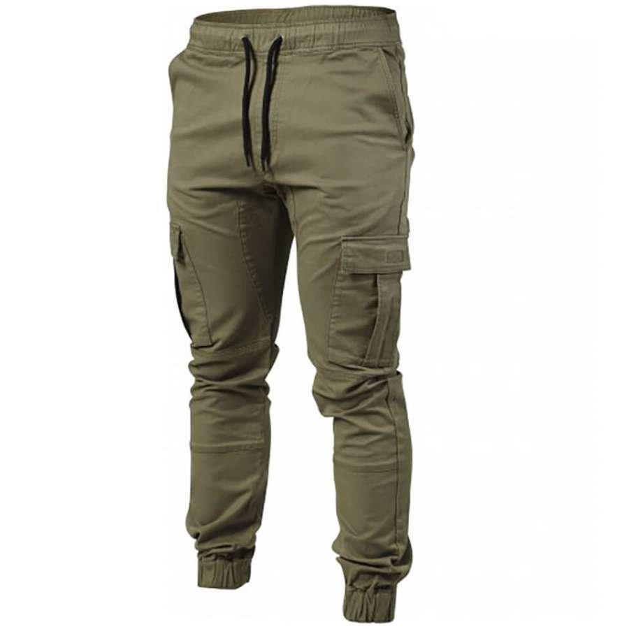 Better Bodies Alpha Street Pants Wash Green XL Vihreä