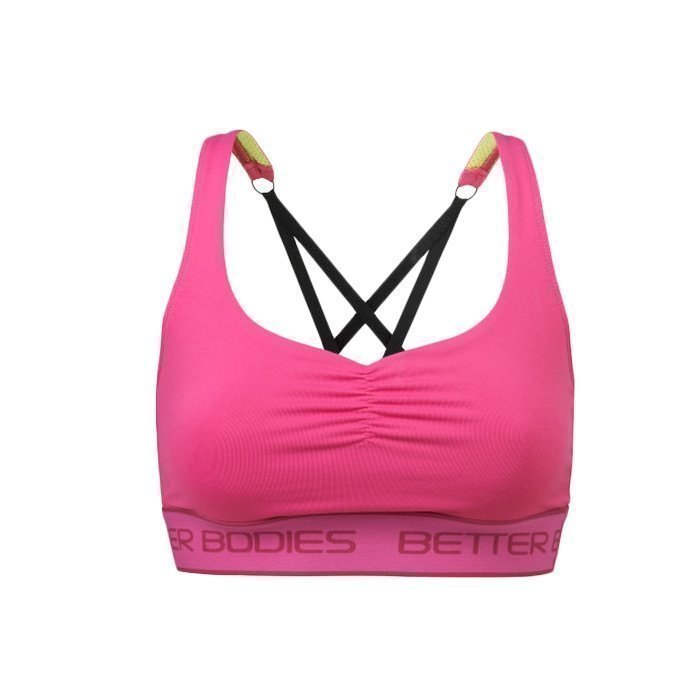 Better Bodies Athlete Short Top hot pink M