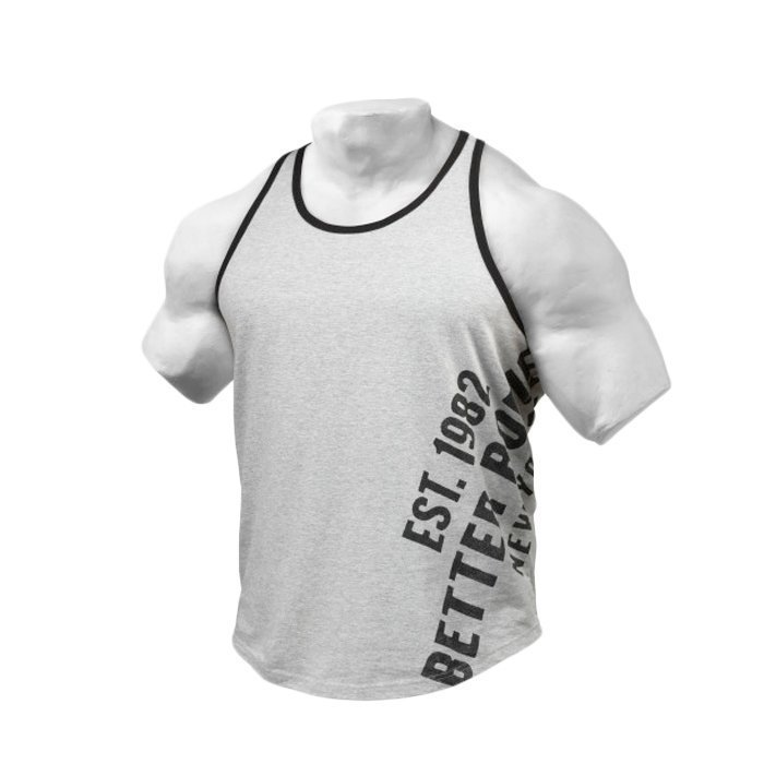Better Bodies BB Gym T-Back grey melange S