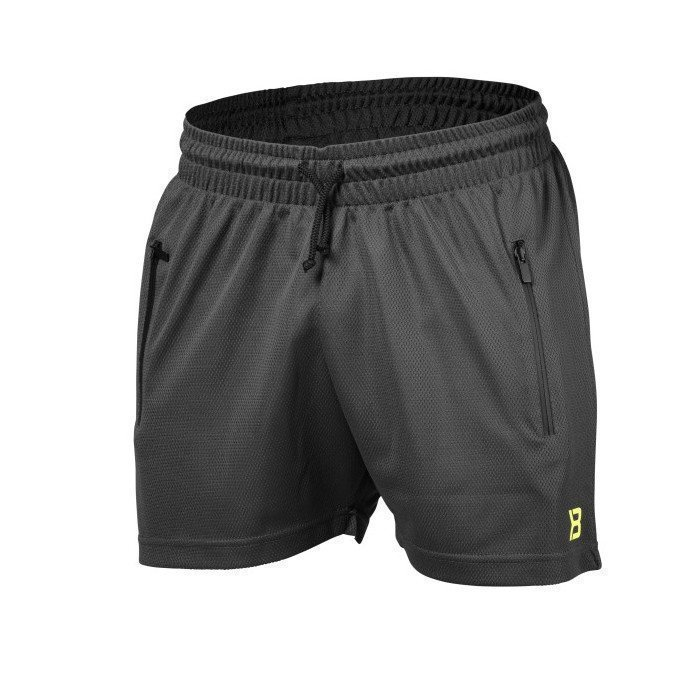 Better Bodies BB Mesh Short dark grey L