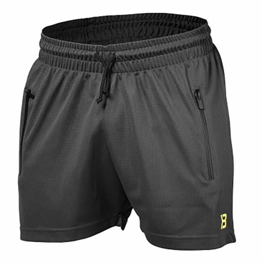Better Bodies BB Mesh Shorts Dark Grey XL Harmaa