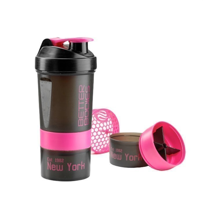 Better Bodies BB Pro Shaker 600 ml black/pink