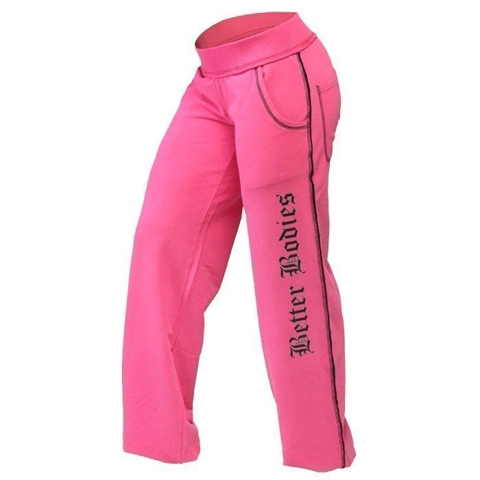 Better Bodies Baggy soft pant hot pink L
