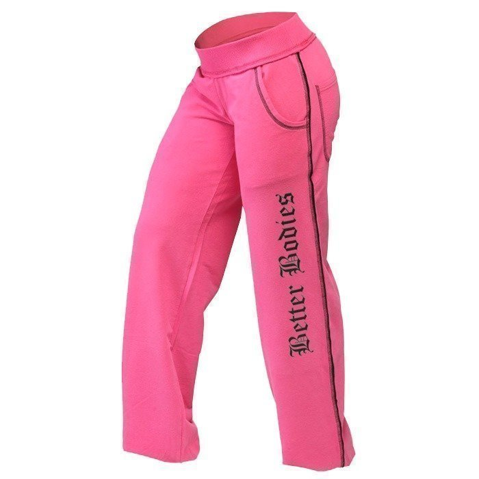 Better Bodies Baggy soft pant hot pink S