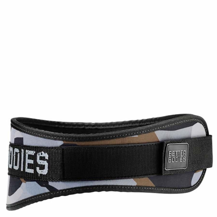 Better Bodies Basic Gym Belt Green Camo XS Vihreä