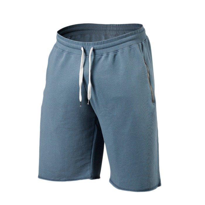 Better Bodies Big Print Sweatshorts ocean blue