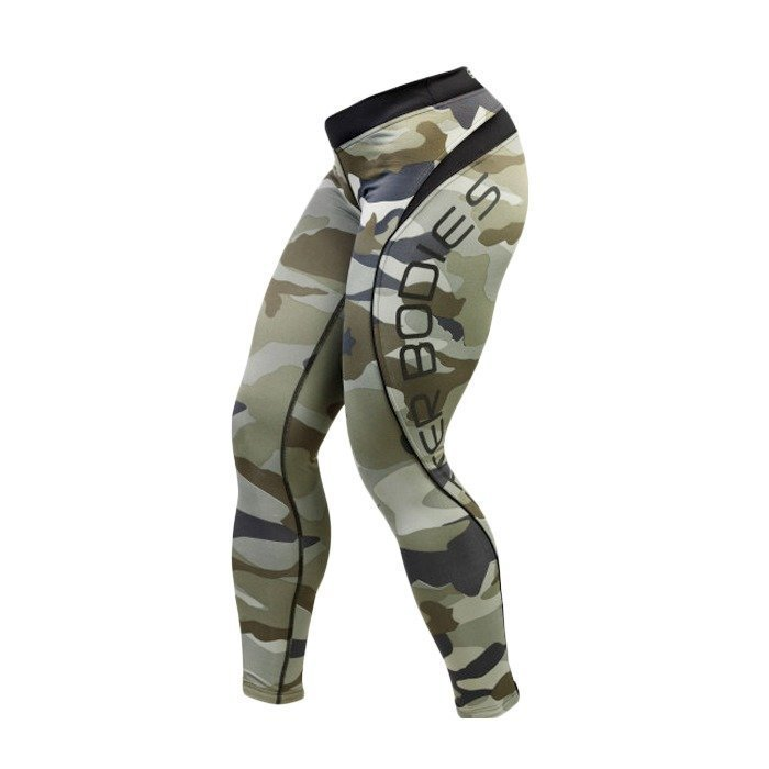 Better Bodies Camo long tights camo print XS