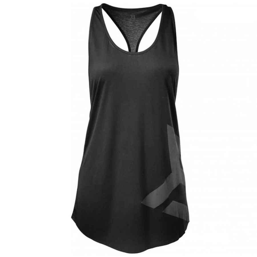 Better Bodies Chelsea T-Back Vest Black M Musta
