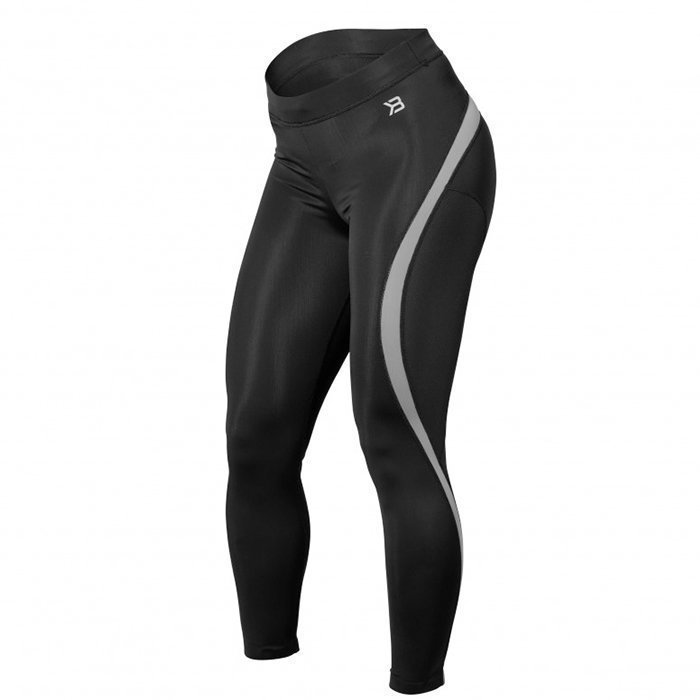 Better Bodies Curve Tights black/grey Medium