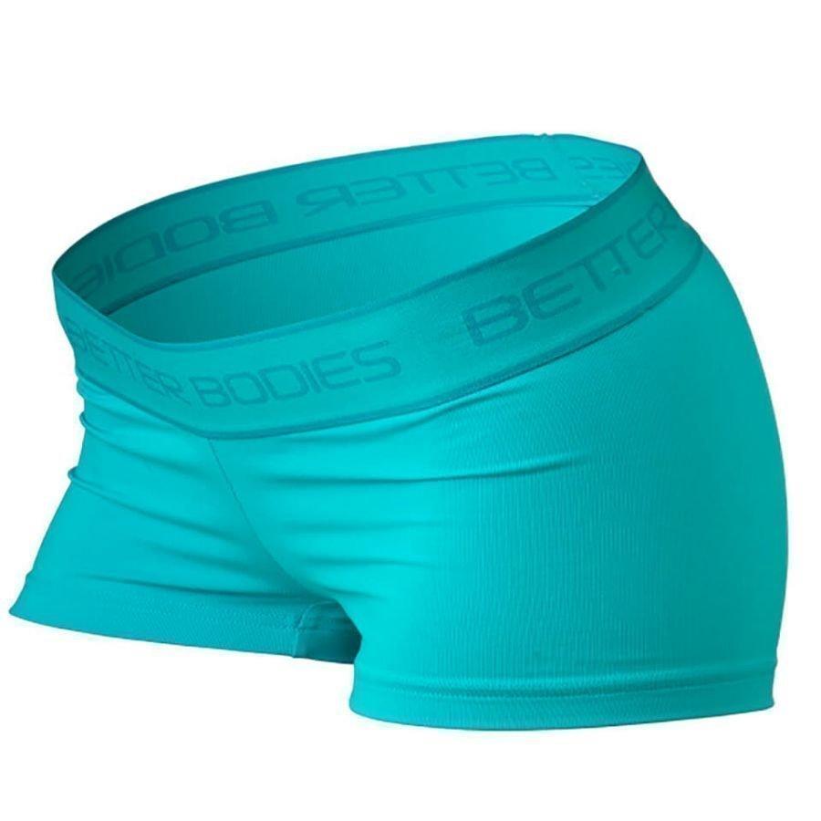 Better Bodies Fitness Hot Pants Aqua Blue L Sininen