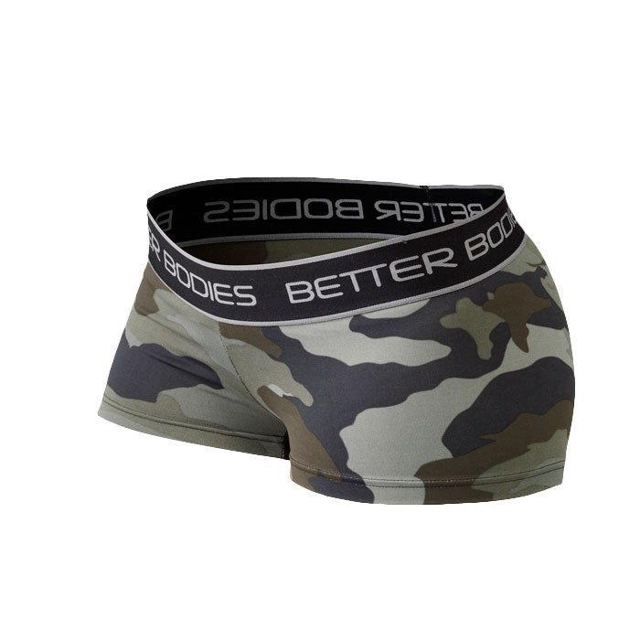 Better Bodies Fitness Hotpant green camoprint
