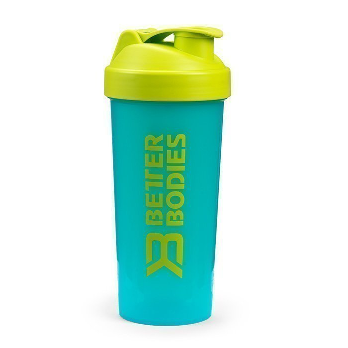 Better Bodies Fitness Shaker 600 ml aqua blue