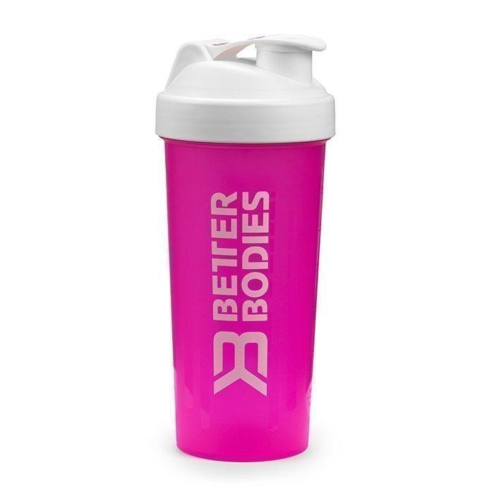 Better Bodies Fitness Shaker 600 ml hot pink