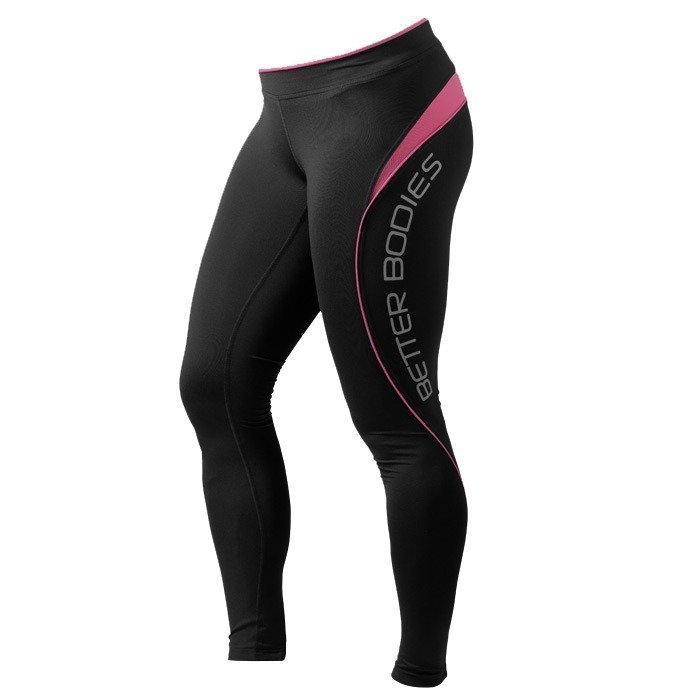Better Bodies Fitness long tights hot pink Large