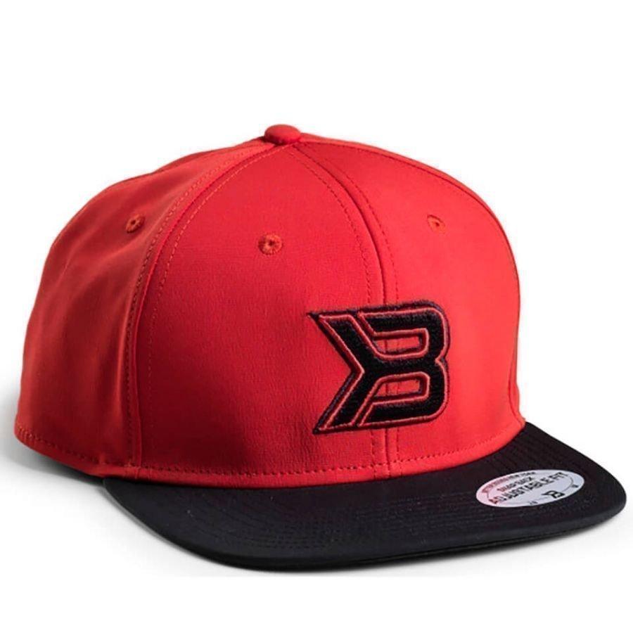 Better Bodies Flat Bill Cap Red/Black