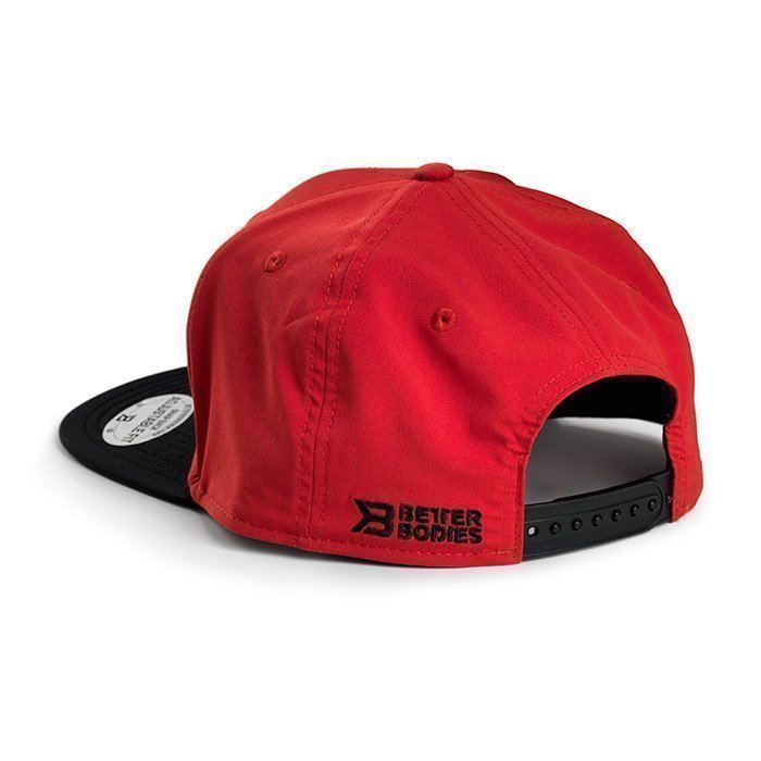 Better Bodies Flat Bill Cap red/black