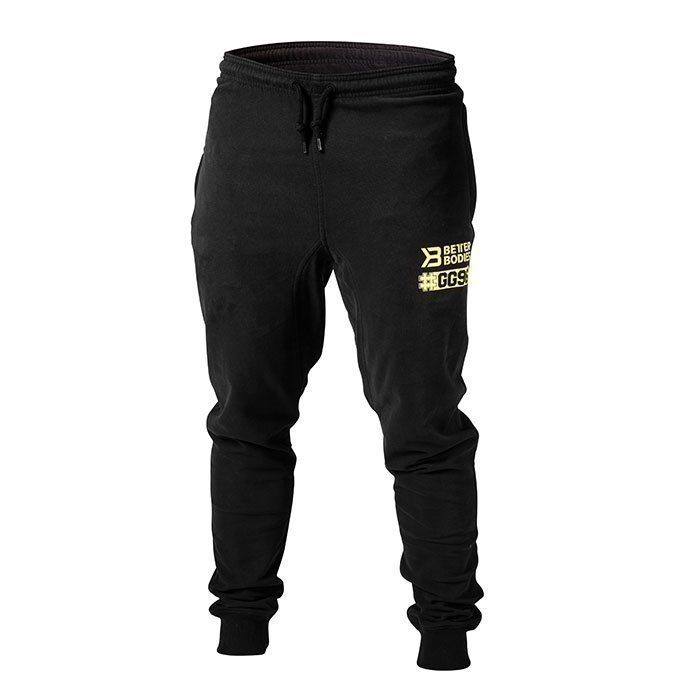Better Bodies GG Tapered Sweatpant Black Medium