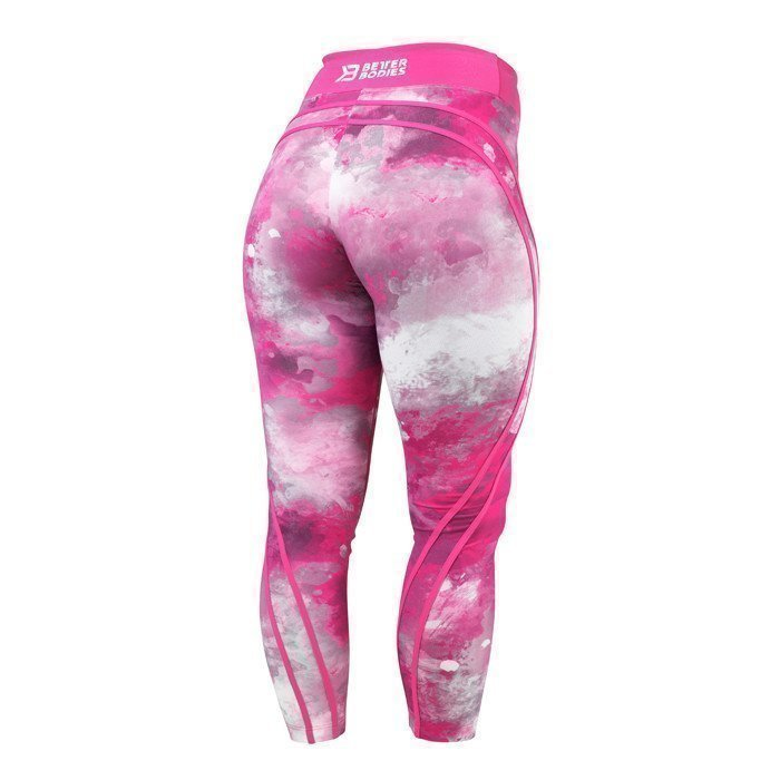 Better Bodies Galaxy high waist hot pink X-small